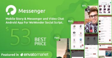 WoWonder Android Messenger