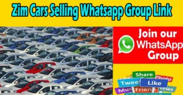 Zim Cars Selling Whatsapp Group