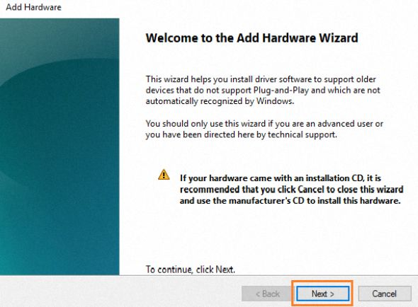click-next-in-welcome-to-add-hardware-wizard