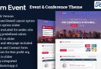 imEvent – Conference Meetup WordPress Theme