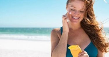 take care of the skin and avoid sunburn
